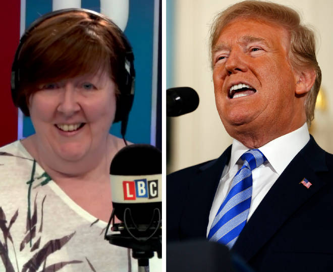 Shelagh Fogarty Donald Trump