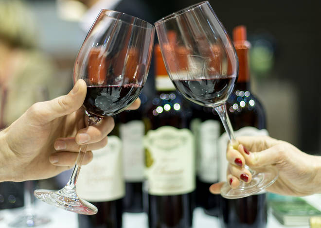 Red wine in moderation can be good for your gut