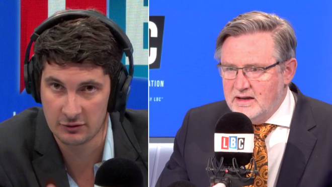 Barry Gardiner made the statements to Tom Swarbrick