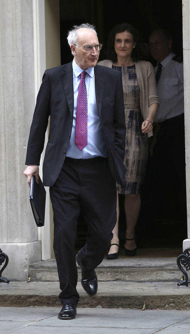 Lord Young resigns from Johnson's government