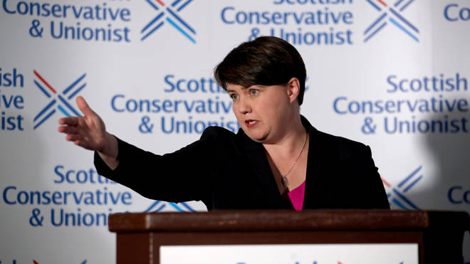 Ms Davidson has been the Scottish Tory leader since 2011