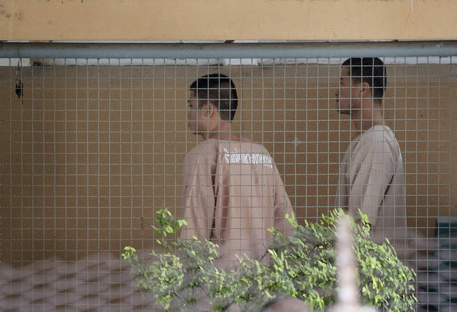 Burmese migrant workers Zaw Lin and Win Zaw Htun had their death penalty conviction upheld.