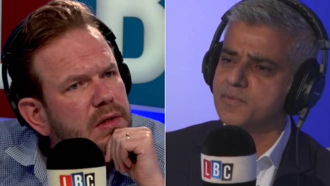 James O'Brien grills Sadiq Khan