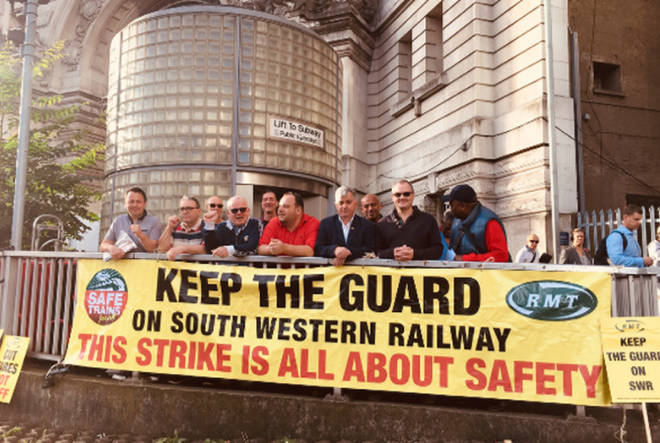South Western Railway: Half Of Trains Cancelled As Workers Begin Four-Day Walkout