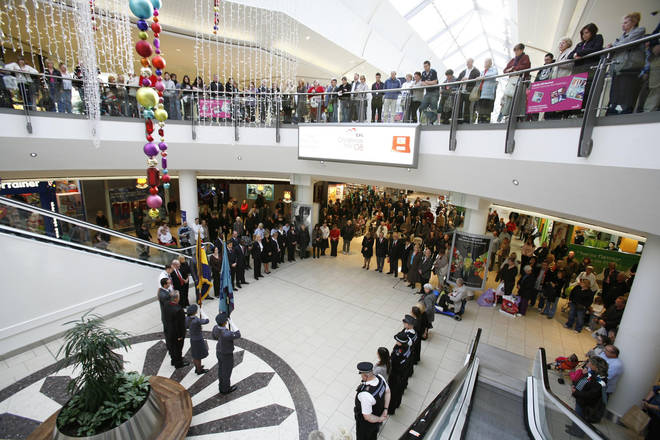The incident occurred at the Lakeside shopping centre, Thurrock