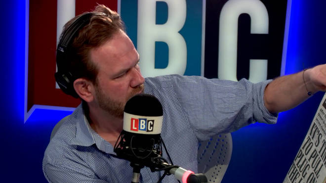 James O'Brien skewered the front page of the Daily Mail