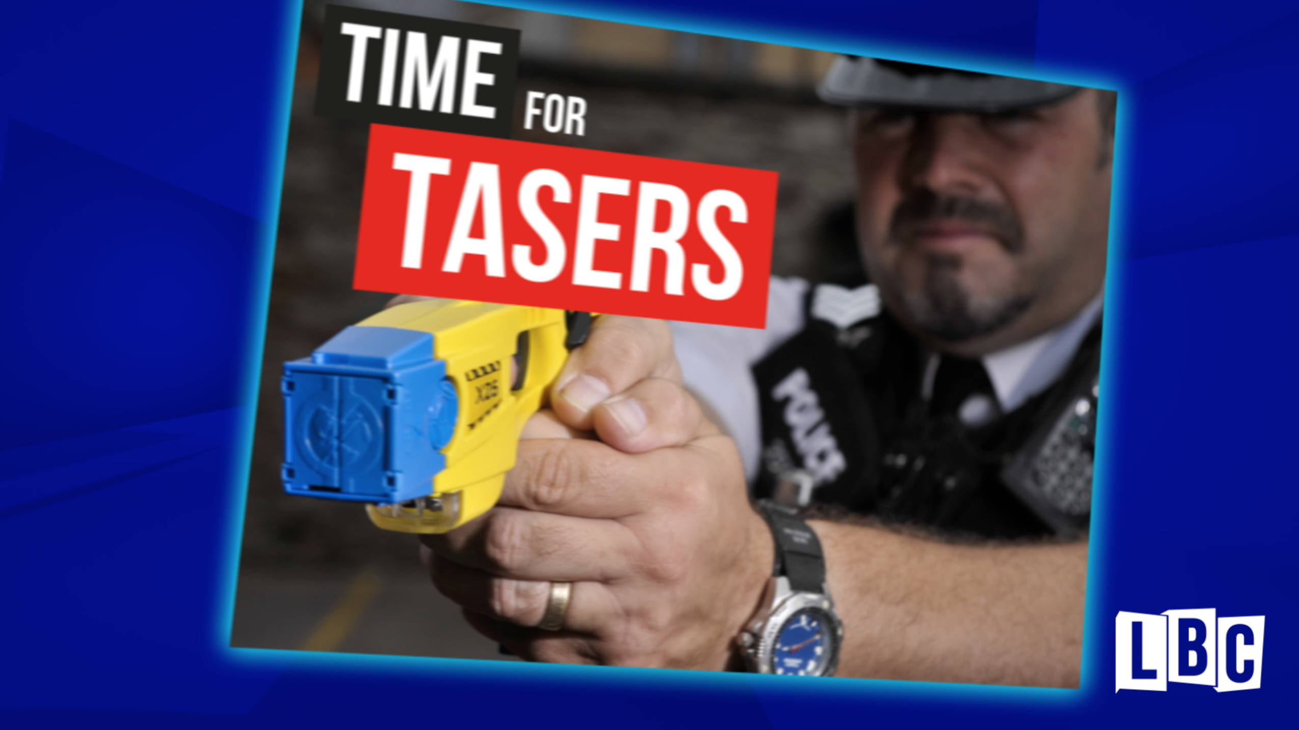 Why It Is Time For Tasers For All Police Officers, By Nick Ferrari