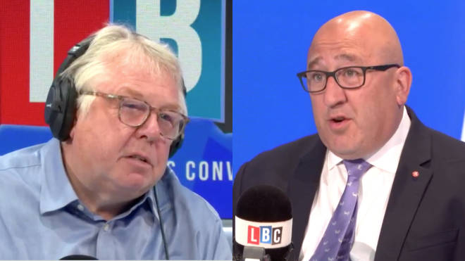 Nick Ferrari was speaking to Ken Marsh, the Chairman of the Metropolitan Police Federation