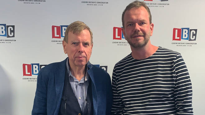 James O'Brien with Timothy Spall
