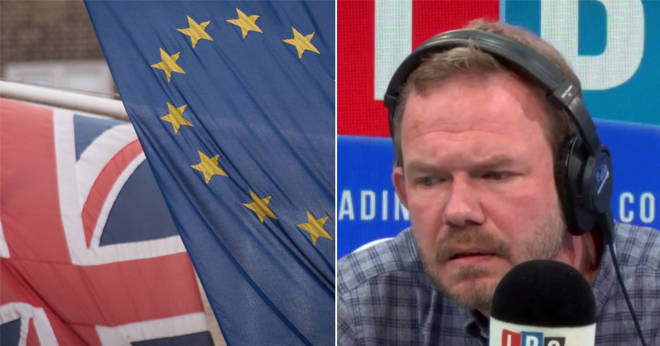 James O'Brien clashed with this caller over Brexit negotiations