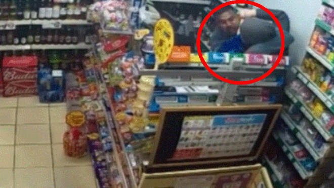 Shopkeeper fights off robber