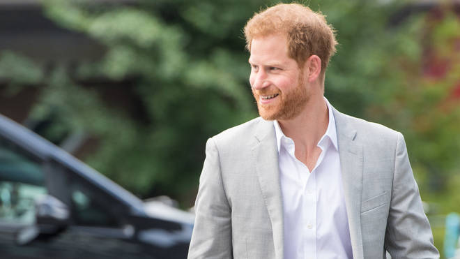 Prince Harry arrives in Amsterdam ahead of launching Travalyst