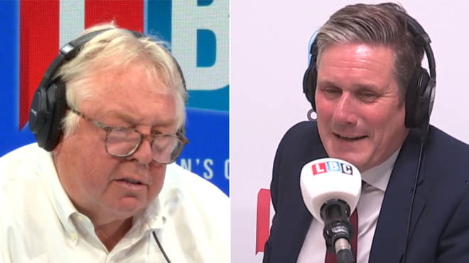 Nick Ferrari spoke to Keir Starmer