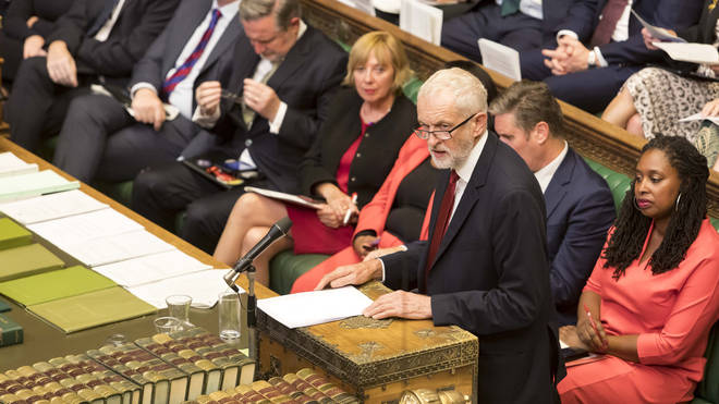 Jeremy Corbyn will block the vote for an election unless no deal is taken off the table