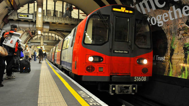 The Northern Line has been suspended causing chaos
