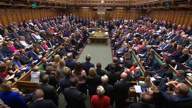 MPs in the UK House of Commons