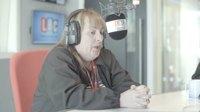 Lyn Rigby describes the Lee Rigby house to Nick Ferrari.