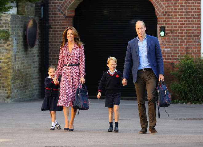 It's a big day for the little royal