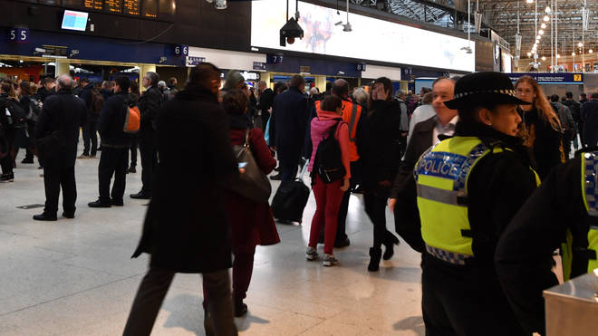 Crimes across Britain's rail networks have increased by 12 per cent