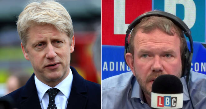 James O'Brien spoke about Jo Johnson's resignation