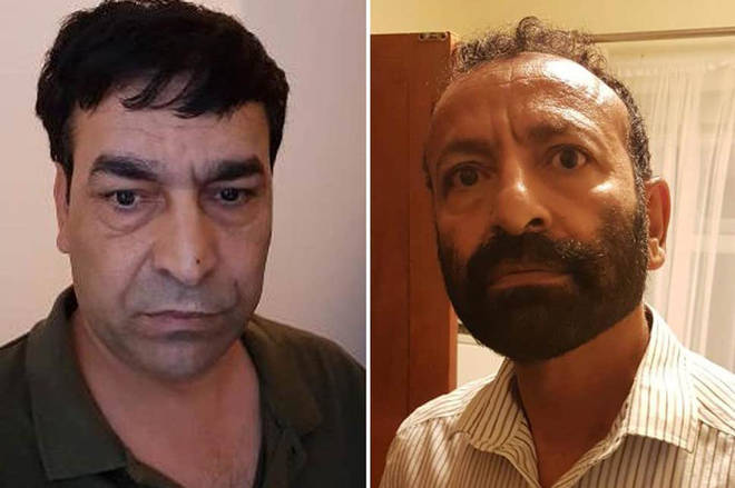 Mohammed Patman, 54, and Darya Khan Safi, 49, have been arrested on suspicion of plotting to kill a female relative