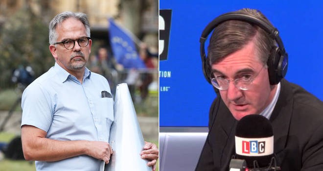 Jacob Rees-Mogg was involved in an unedifying row with Dr David Nicholl