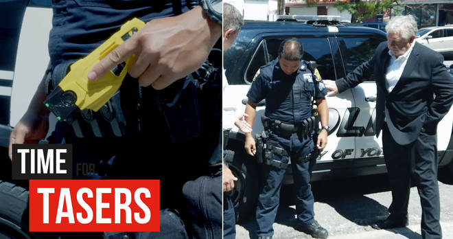 Nick Ferrari visited Yonkers Police to find out how they use tasers