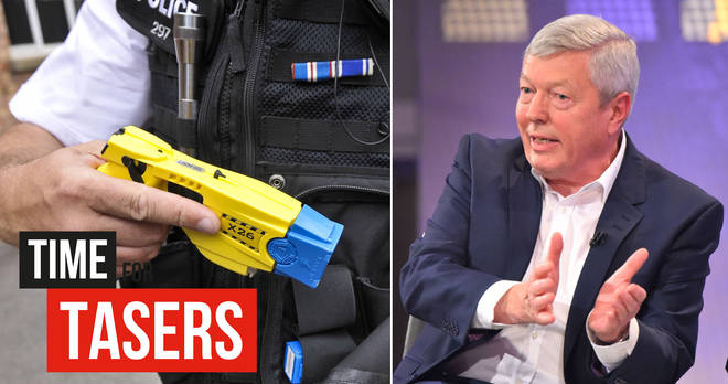 Alan Johnson backed the campaign Time For Tasers