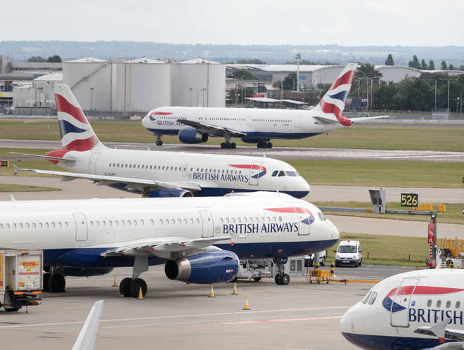 Passengers will face disruption to their flight services when the strikes begin.