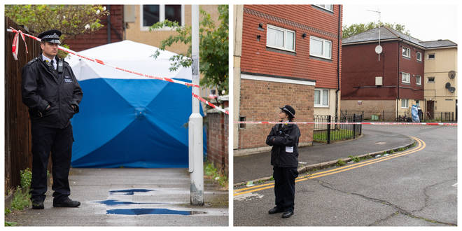 A teenage boy has been arrested after Michael Irving, 15, was stabbed to death on Tuesday