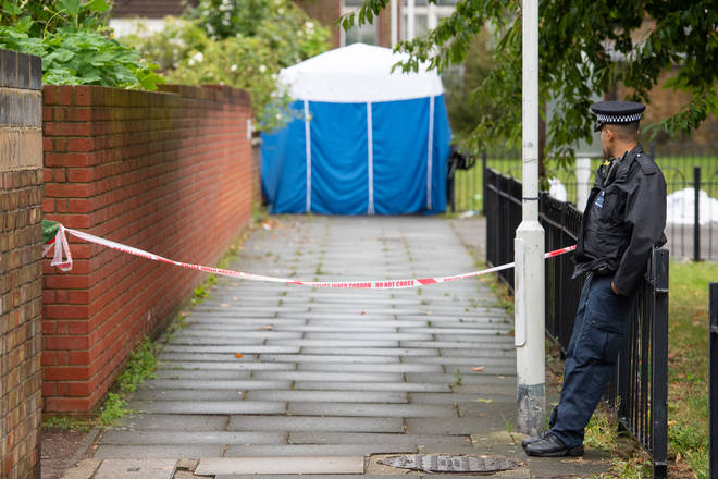 Officers were called to the street in Byford Close, East Ham
