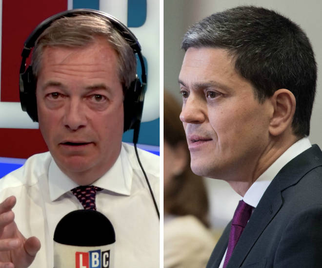 Nigel Farage David Miliband