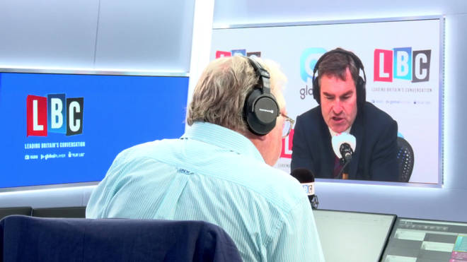 David Gauke tells LBC that there is no support for leaving without a deal