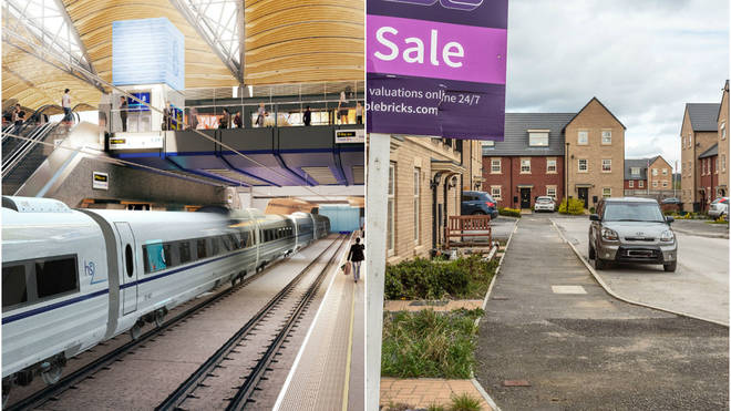 This housing estate in Yorkshire could be destroyed to make way for HS2