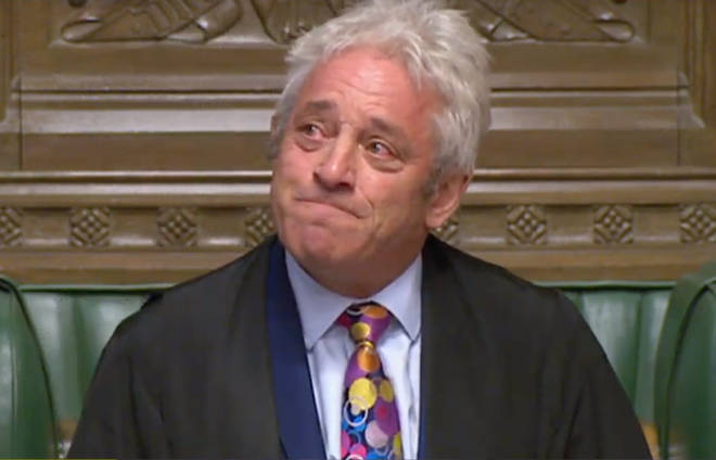 John Bercow's Emotional Speech About Stepping Down