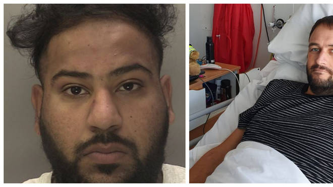 Mubashar Hussain has admitted driving over PC Gareth Phillips after stealing his police car