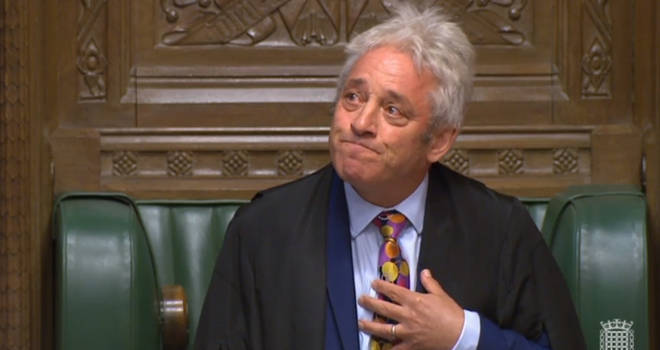 Speaker of the House of Commons John Bercow announced that he is standing down