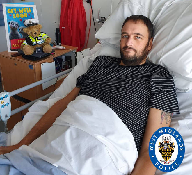 PC Phillips could be in hospital for the foreseeable future