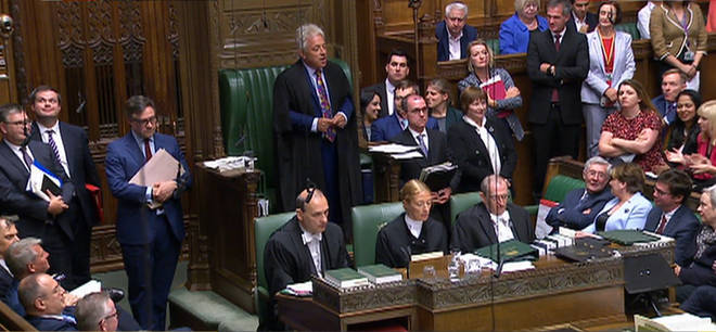 John Bercow received a standing ovation from many MPs today