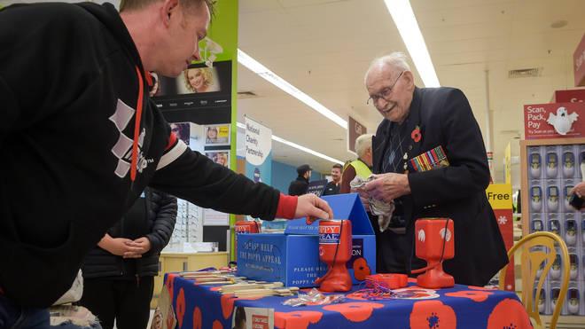 Mr Jones survived the Second World War despite being held prisoner at Auschwitz