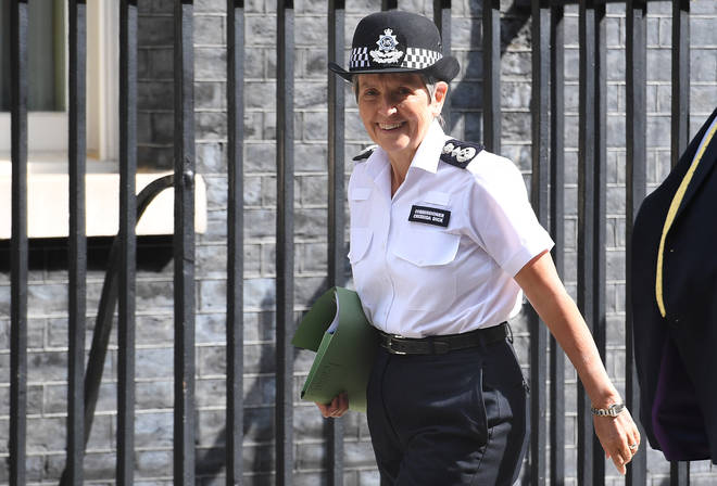 Metropolitan Police Commissioner Cressida Dick has been made a Dame