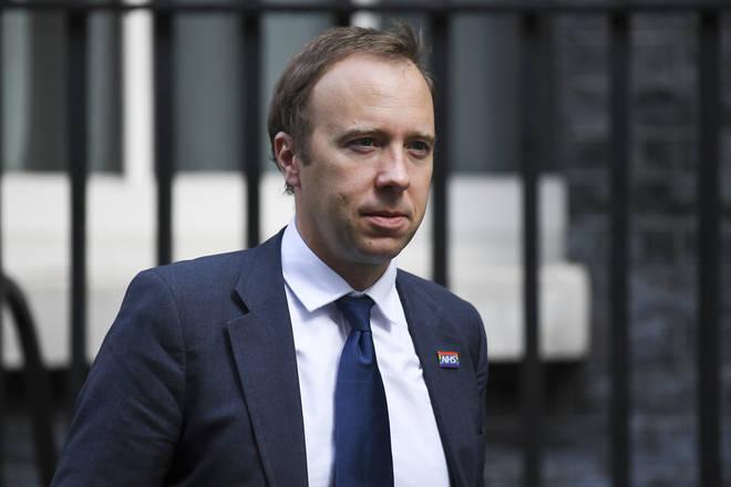 "Health Secretary Matt Hancock said England was in the ""grip of an over-medication crisis"""