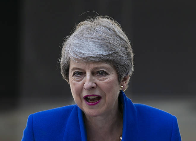 Mrs May was criticised for the move by domestic abuse charities