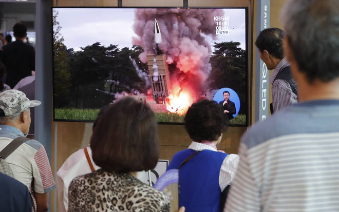 The launches came hours after the country offered to resume nuclear diplomacy with the US