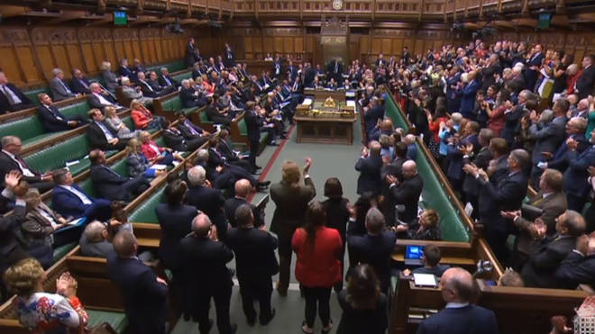 The Commons erupted into chaos on Monday night as it was prorogued until October