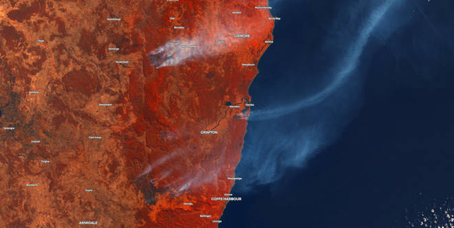 The Australia bushfire season has started early this year with hundreds of people evacuated from their homes