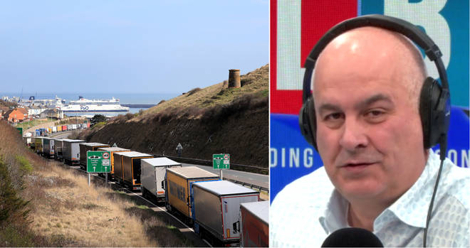 Iain Dale heard from an expert from the Port of Dover