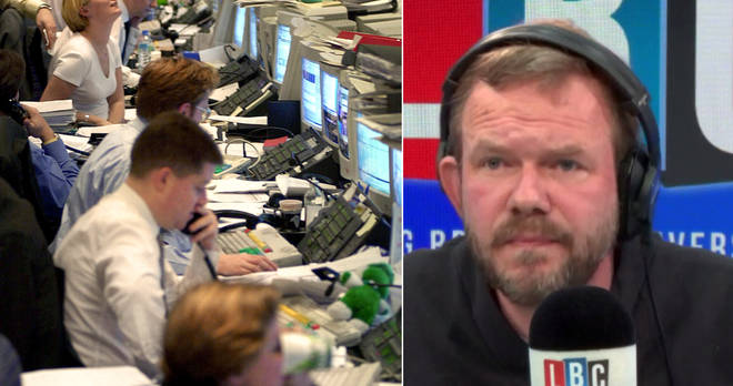 James O'Brien's caller tried to use a Millennium Bug analogy