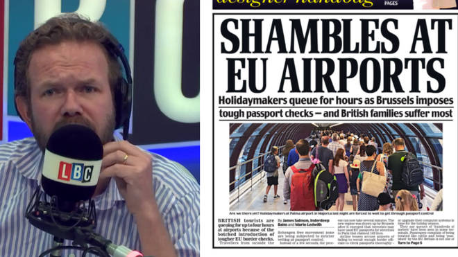 James O'Brien destroys the front page of today's Daily Mail.