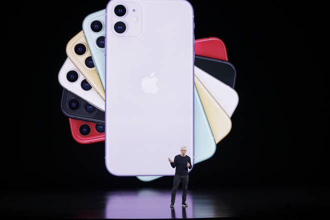 Tim Cook launched the iPhone 11 from the Steve Jobs Theater